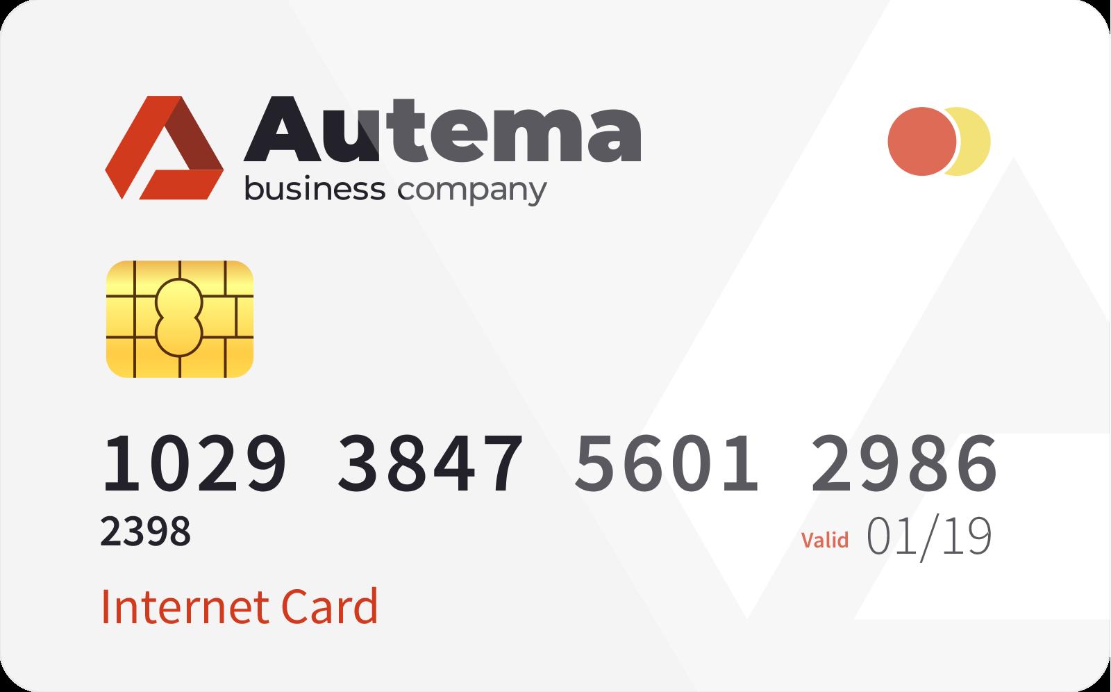 <span> Internet </span> card